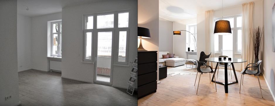 Home Staging Vorher Nachher 3