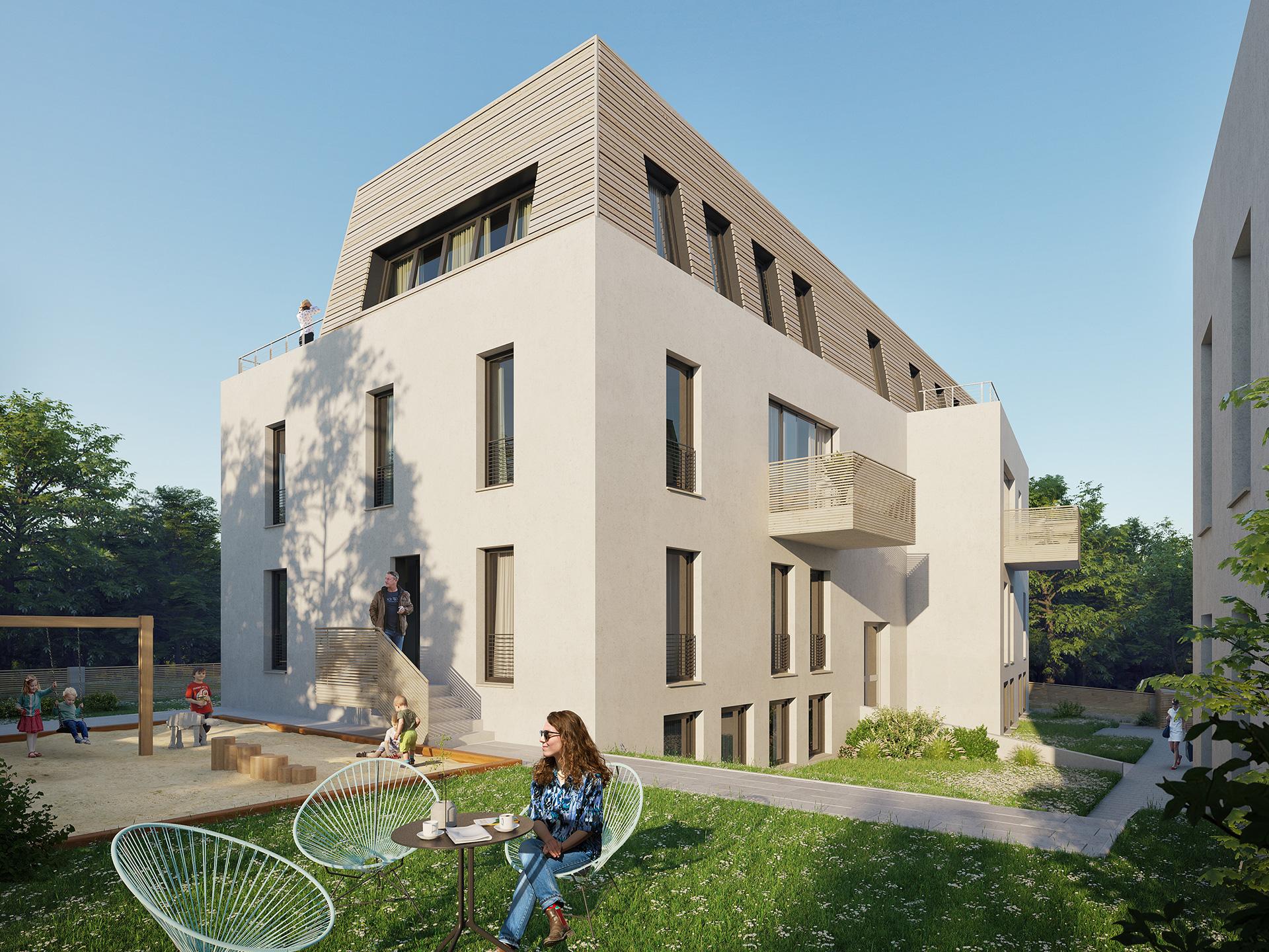 Immobilie Berlin Zehlendorf Gartenstrasse Front