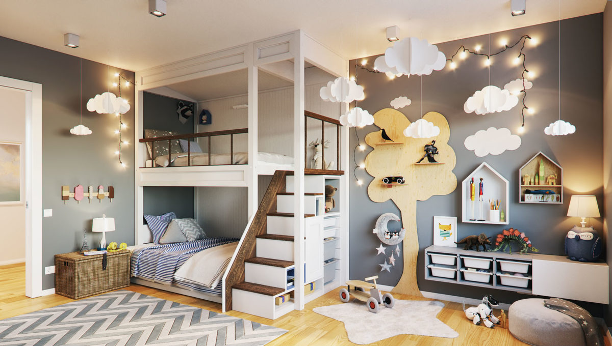 Beispiel Kinderzimmer