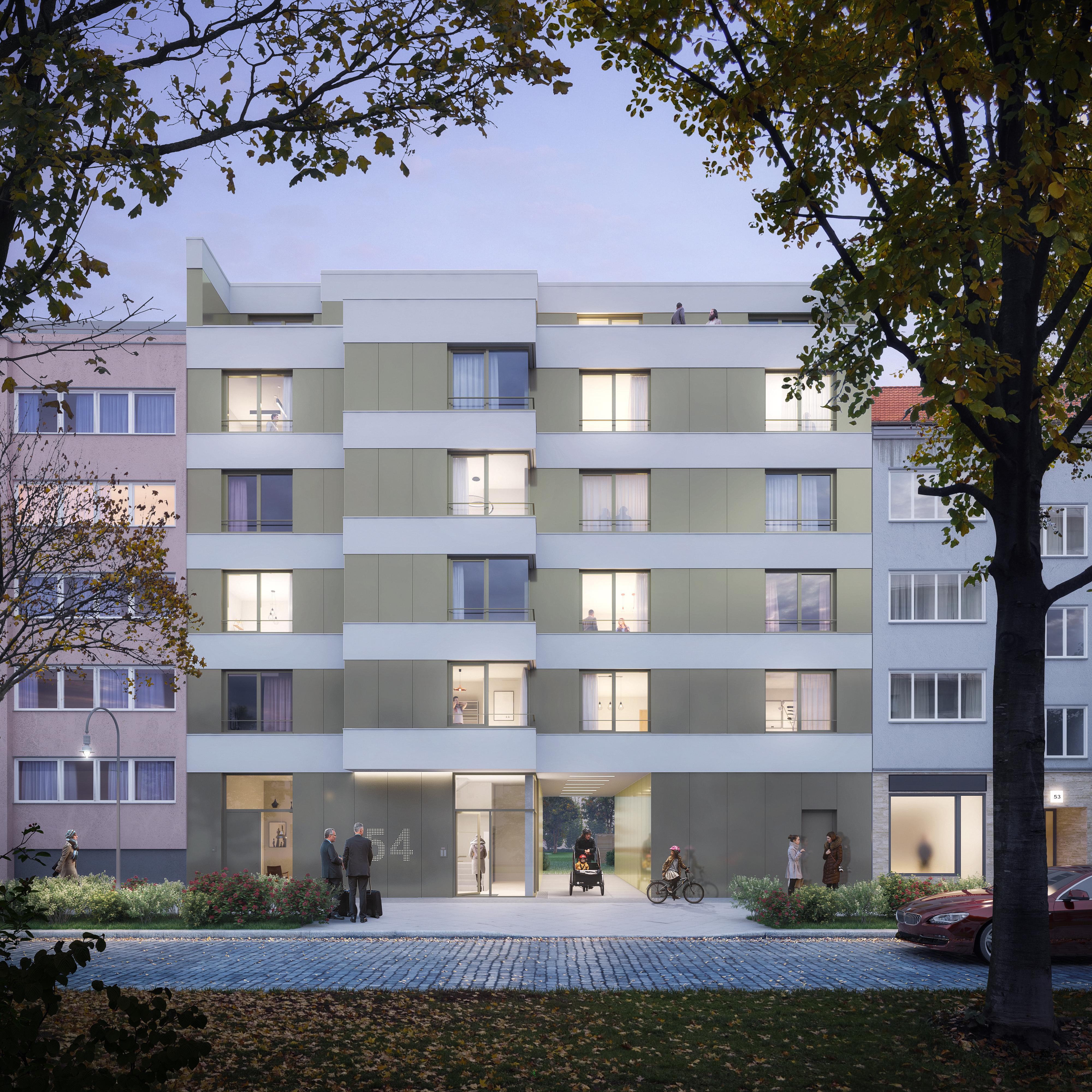 Haus 54 – 20 Eigentumswohnungen am neuen Berliner Hotspot
