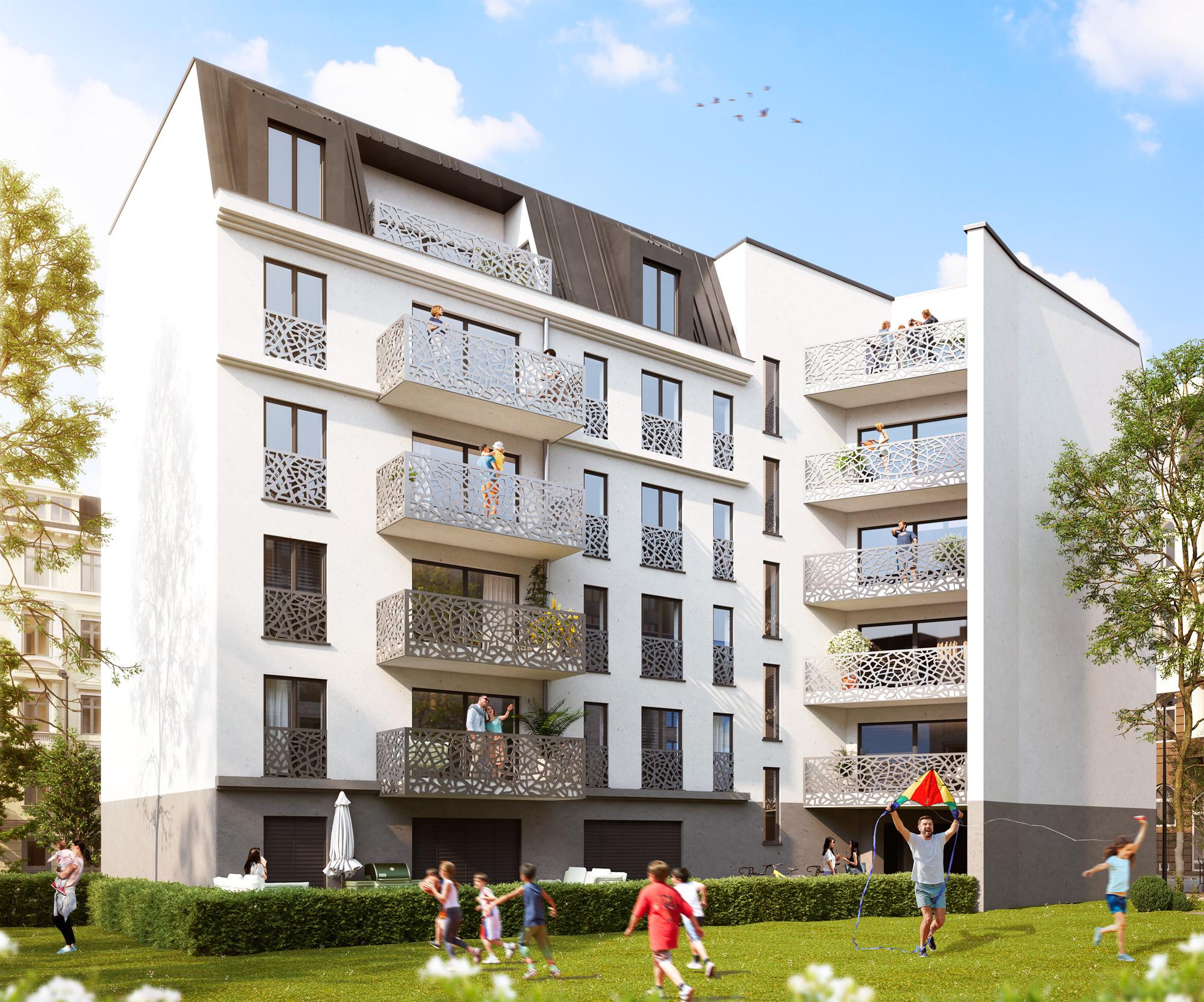 18 Exklusive Eigentumswohnungen im Dohnanyi Palais – Leipzig